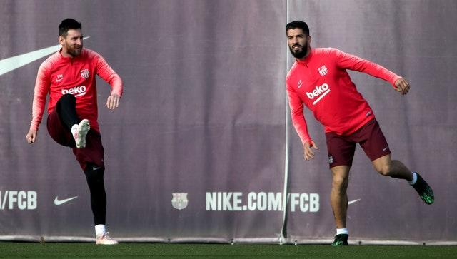 Lionel Messi (left) and Luis Suarez developed a strong bond during their six years together at Barcelona