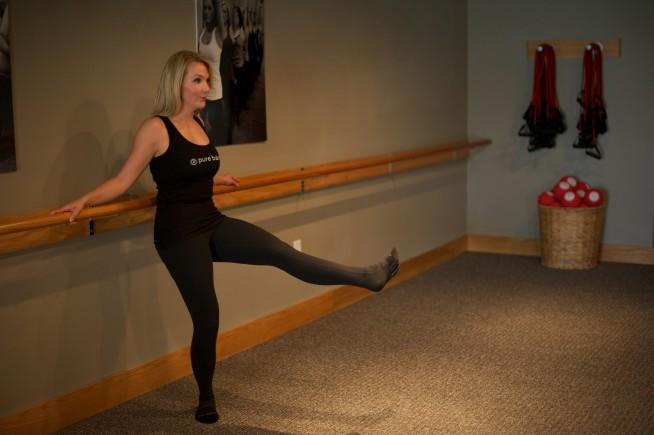 Pure Barre Extended Leg