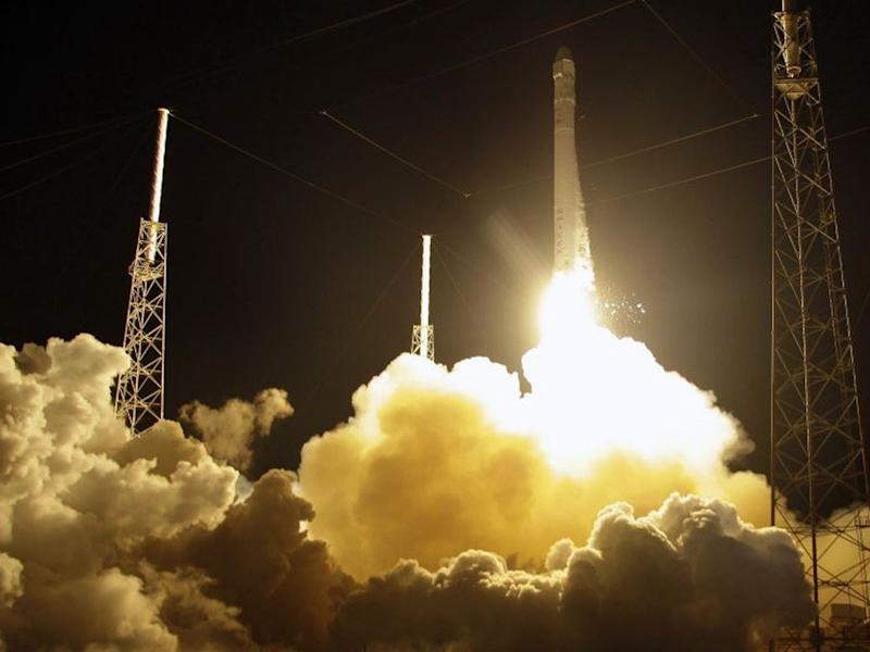 Elon Musk's SpaceX has added a mystery Falcon 9 rocket mission to their record-setting schedule for October (AP)