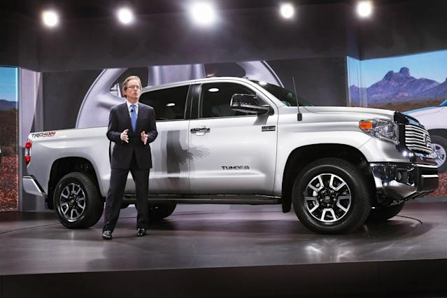 <p>Full-size Truck, 3rd Place: 2007-2016 Toyota Tundra </p>