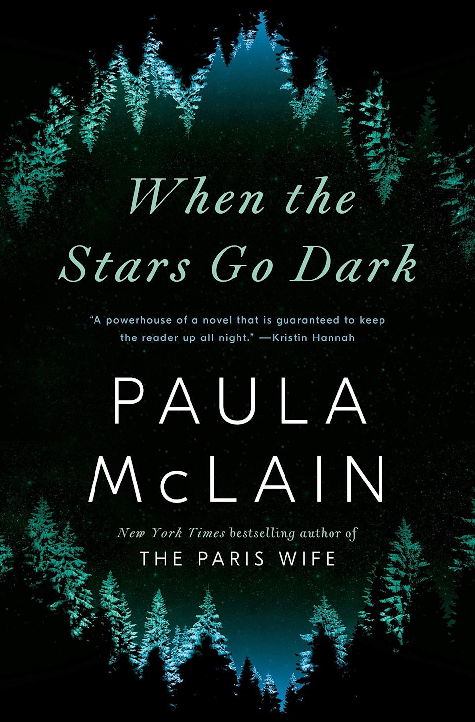 "<p>A missing persons detective returns to the beloved town of her childhood to grieve a personal loss in Paula McLain's <a href=""https://www.amazon.com/When-Stars-Go-Dark-Random/dp/059339559X"" class=""link rapid-noclick-resp"" rel=""nofollow noopener"" target=""_blank"" data-ylk=""slk:When the Stars Go Dark""><strong>When the Stars Go Dark</strong></a>. But what Anna Hart doesn't expect is for the small town she's seeking refuge in to be gripped by the disappearance of a teenage girl. Now Anna has no choice but to confront her past in order to solve the case and process her own trauma. </p> <p><em>Out April 27</em></p>"