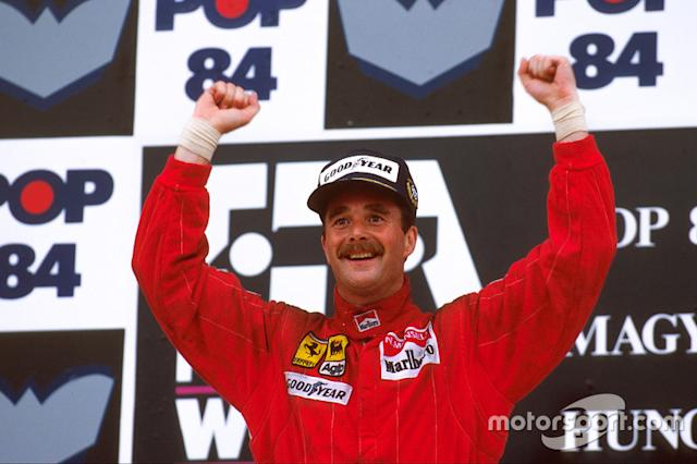 """Nigel Mansell (3 victorias) <span class=""""copyright"""">LAT Images</span>"""