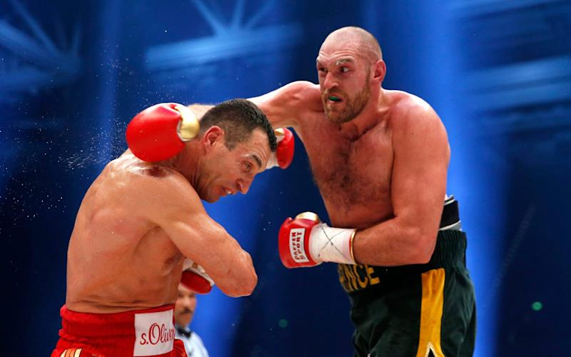 Klitschko Fury - Credit: Reuters