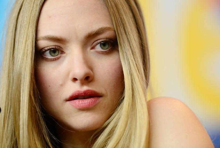 US actress Amanda Seyfried addresses a press conference for the film 'Lovelace' during the 63rd Berlin International Film Festival on February 9, 2013
