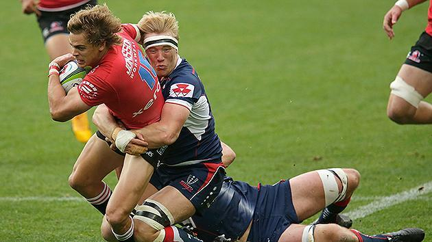 Rebels rolled by Lions in Super Rugby