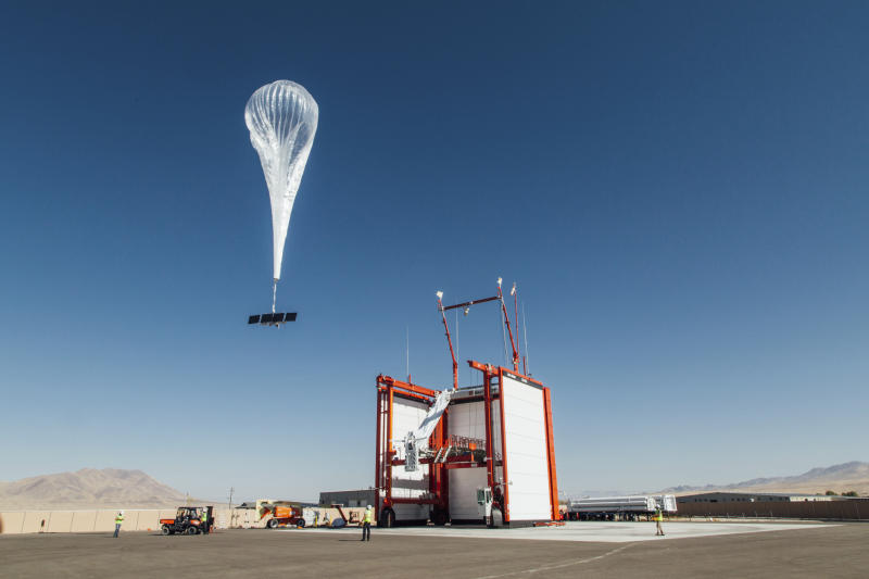 Alphabet rolling out Internet balloons with Telkom Kenya