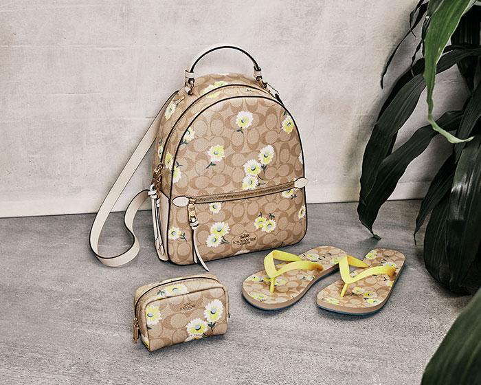 Coach Outlet's Mother's Day frenzy is on now, with deals up to 70% off. Image via Coach Outlet.