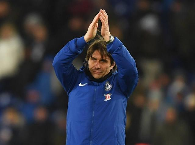 Antonio Conte delighted with the 'fighting spirit, desire and will' of his Chelsea players in Leicester win