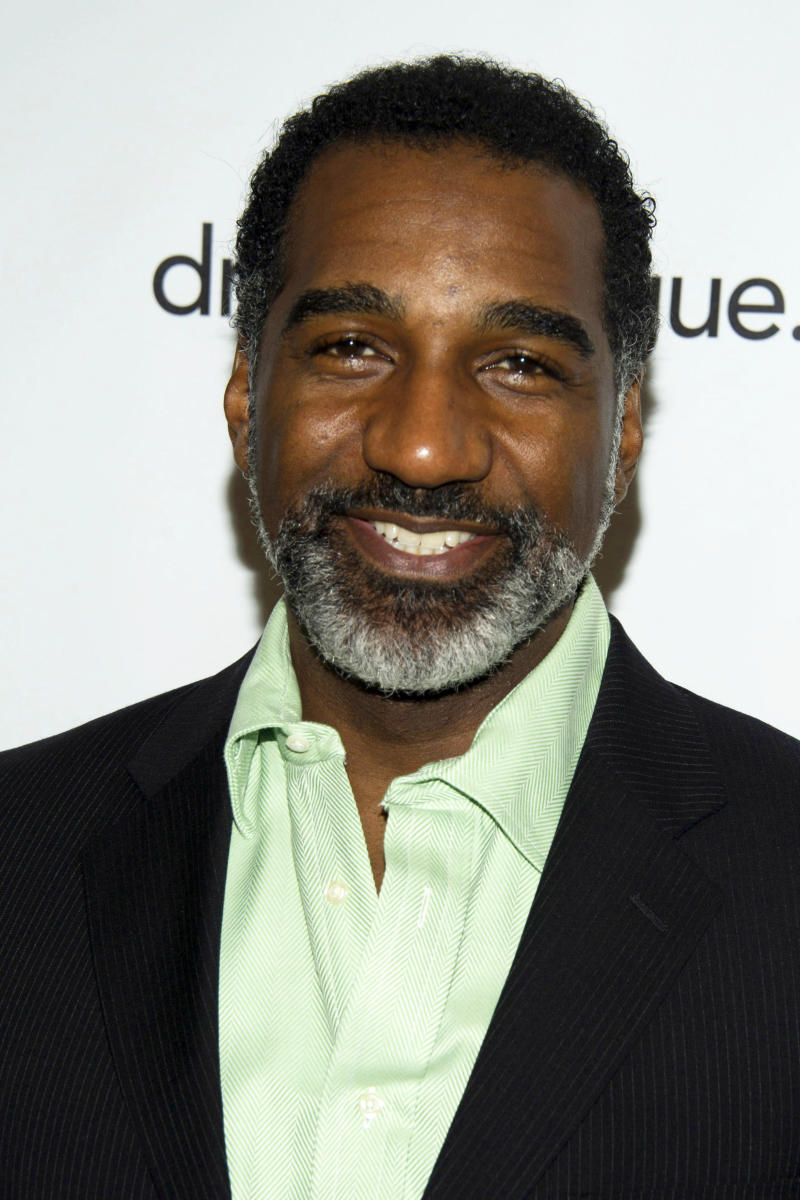 """FILE - This May 18, 2012 file photo shows actor Norm Lewis at the 78th Annual Drama League Awards in New York. Lewis has been tapped to be Broadway's next Phantom in the megahit """"The Phantom of the Opera,"""" a move that makes him the first African American to slip behind the famous mask. (AP Photo/Charles Sykes, File)"""