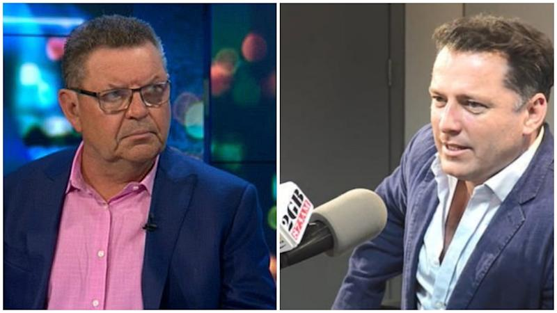 Karl Stefanovic has laid out his opinion on the Uluru climb on Steve Price's radio show. Photo: Channel 10/2GB