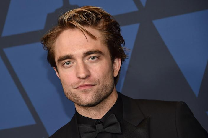 Robert Pattinson at the 11th Annual Governors Awards gala in Hollywood on 27 October 2019. (CHRIS DELMAS/AFP via Getty Images)