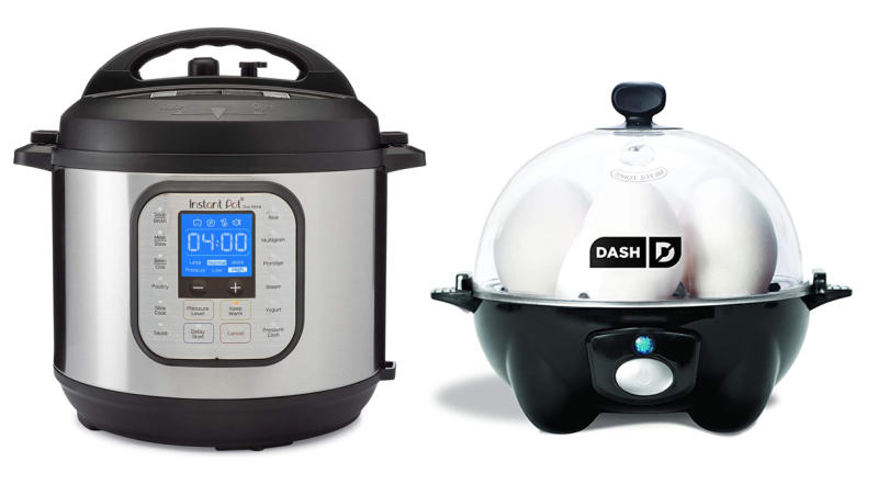 Prime Day Instant Pot and Dash Deluxe Rapid Egg Cooker (Photo: Amazon)