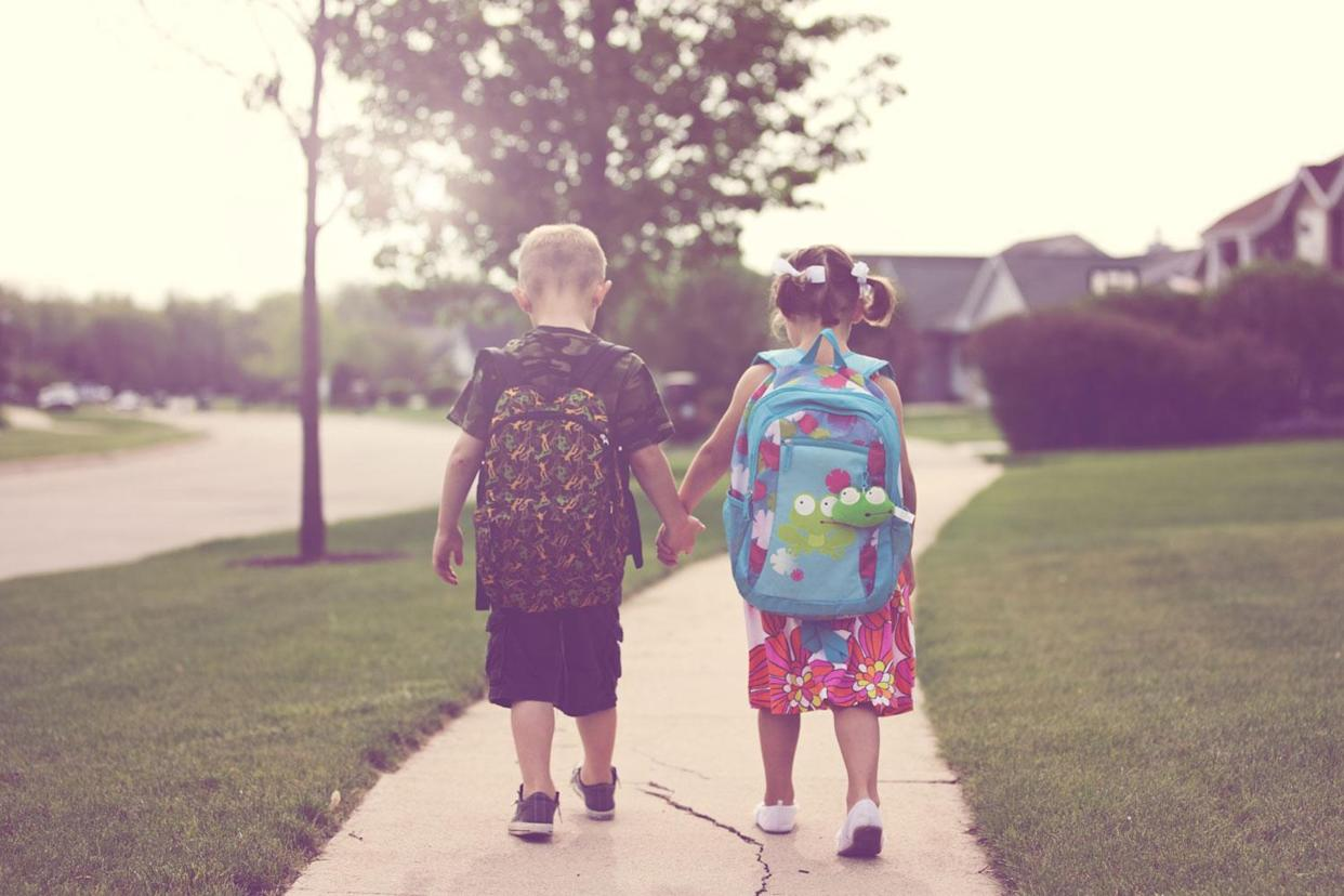 It's back-to-school time, which has some parents thinking about school shootings. (Photo: Getty Images)