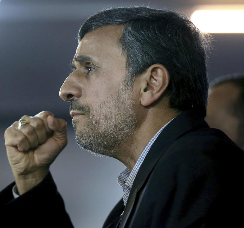 Ahmadinejad registers for Iran elections against advice of supreme leader