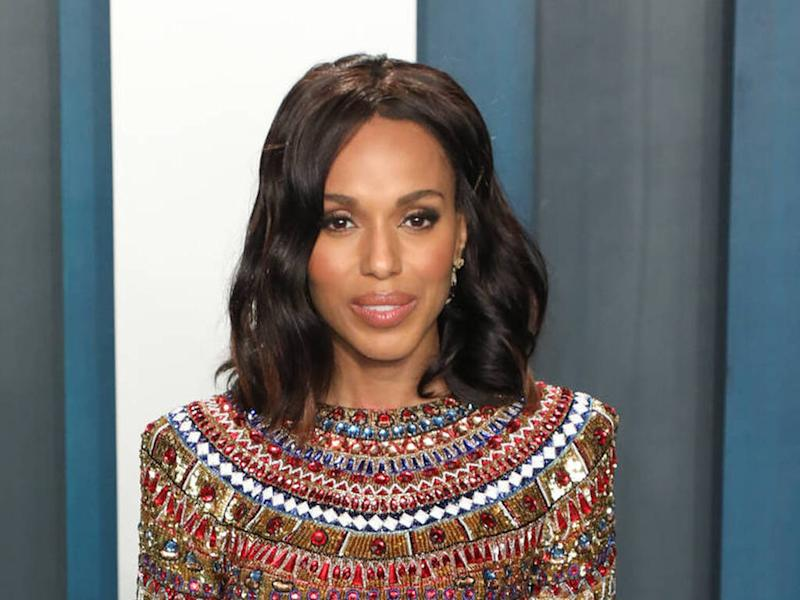 Kerry Washington's mother 'begged' her to become a lawyer