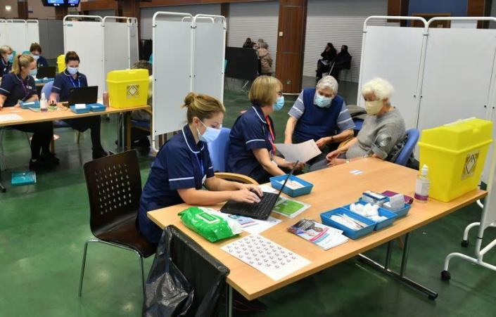 COVID-19 vaccinations in Epsom