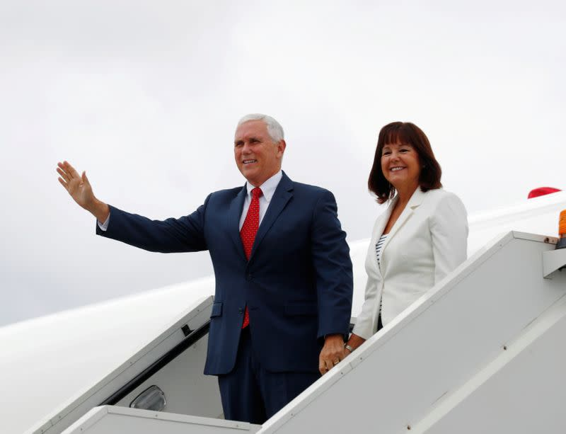 No quarantine for U.S. Vice President Pence, whose COVID-19 test was negative; next in line to Trump