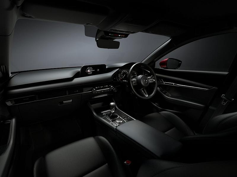 The all-new Mazda3 cockpit features a symmetrical layout and horizontal orientation that shaves away all unnecessary elements. — Bermaz Motor pic
