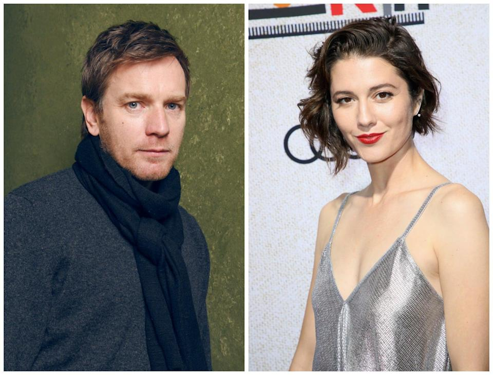 Ewan McGregor and Mary Elizabeth Winstead have welcomed a child together (Getty)
