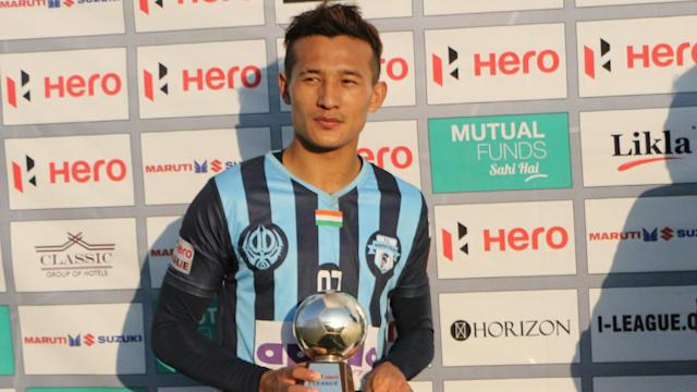 The Bhutanese winger was a hit in the I-League last season with Minerva Punjab....