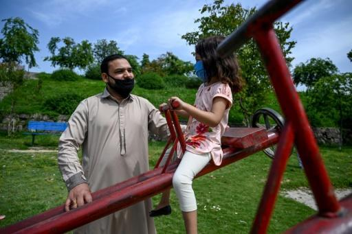 Aamir Gill (L) was given no severence by the wealthy family he had helped look after in Pakistan's capital Islamabad