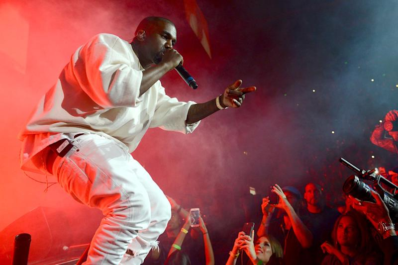 Kanye West returns to stage for first time in almost a year