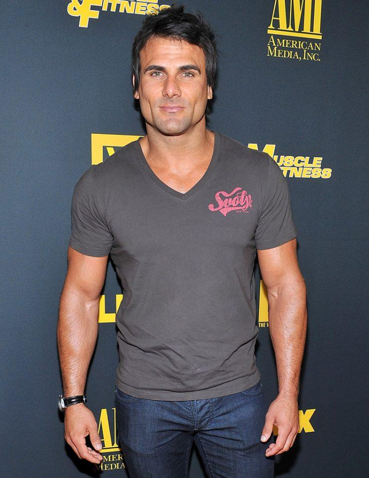Jeremy Jackson arrives at the Los Angeles premiere of 'GENERATION IRON' at Chinese 6 Theater Hollywood on
