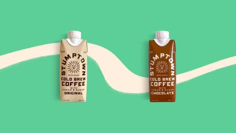 Stumptown offers its boxed cold brew in Original and Chocolate varieties.