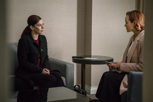 Friel and Krause in <em>The Girlfriend Experience</em> (Photo: Starz)