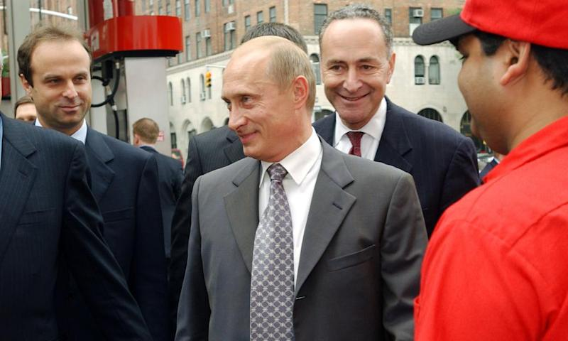 2003 photo proving Chuck Schumer... stole the 2016 election?