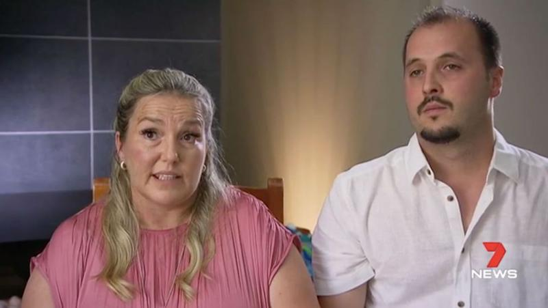 Yvette and Mali admit they had never heard of Edwards Syndrome before. Source: 7 News