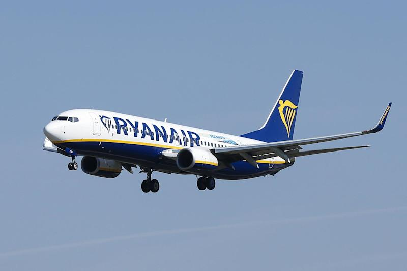 Ryanair pilots are planned to strike from just after midnight on August 22: AFP/Getty Images