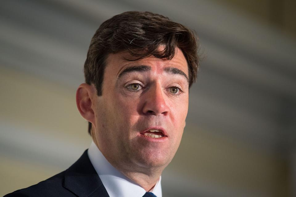 <strong>Mayor of Greater Manchester, Andy Burnham</strong> (Photo: PA)