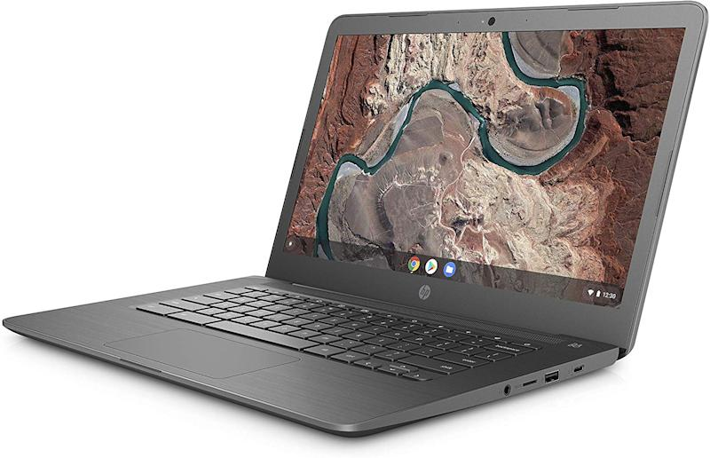 "HP Chromebook 14-db0002ca, 14.0"" HD, (AMD A4-9120C, 4GB DDR4, 64GB SSD, Chrome OS), Chalkboard Grey, 6SH70UA#ABL"
