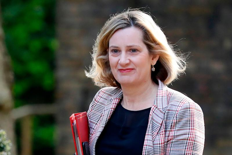 Britain's Work and Pensions Secretary Amber Rudd (AFP/Getty Images)