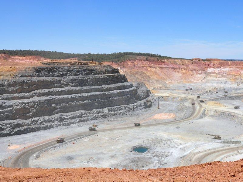 Newmont production downgrade at Boddington