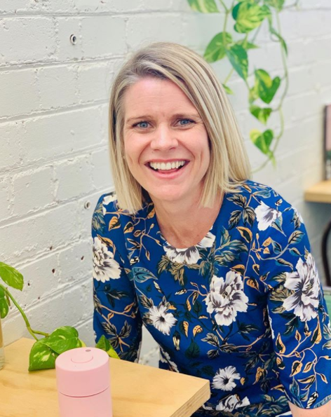 Registered nurse and midwife Edwina Sharrock also runs an online childbirth and parenting course, Birth Beat. Photo: Instagram/birthbeat.