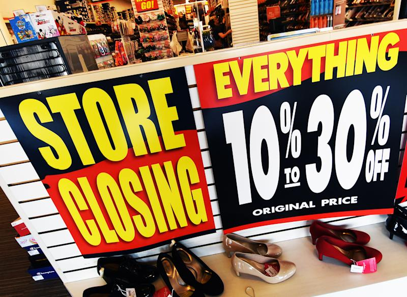 A Payless ShoeSource store is seen in Orlando, Florida on February 17, 2019, the first day of the firm's liquidation sale after confirming on February 15, 2019 that it will close its 2,100 stores in the U.S. and Puerto Rico.. (Photo by Paul Hennessy/NurPhoto via Getty Images)