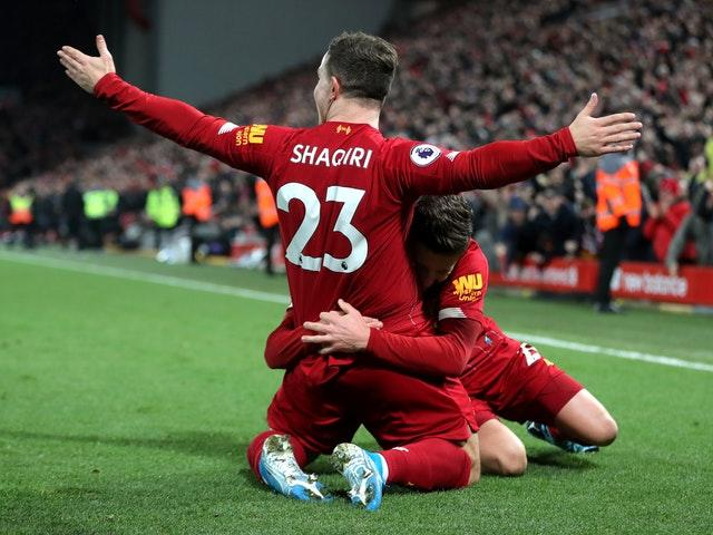 Liverpool beat Everton 5-2 in the Premier League clash at Anfield