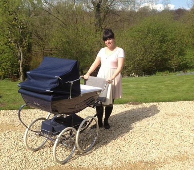 Celebrity photos: Since giving birth to baby Ethel, Lily Allen has kept a relatively low profile. However, over the weekend she tweeted this cute picture of herself standing next to Ethel's pram on a walk with husband Sam Cooper.
