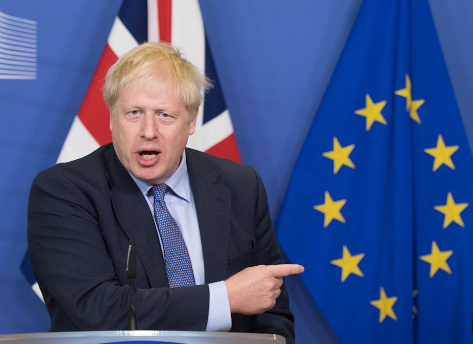 Boris Johnson's government is about to embark on fresh talks with the EU determining the nation's future relationship with the bloc (PA)