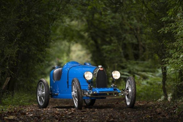 Bugatti's electric Type 35 race car for kids launches for €30,000