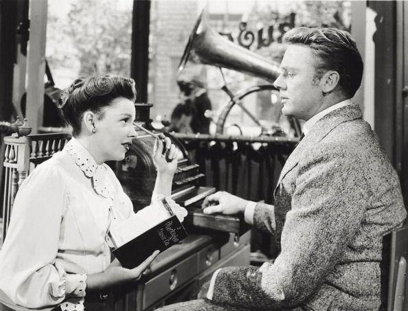 "<p>Judy starred alongside Van Johnson. <u><a href=""https://www.amazon.com/Good-Old-Summertime-Judy-Garland/dp/B004SIK8PW/ref=sr_1_1?crid=1FRH12EMQUR6U&keywords=in+the+good+old+summertime+dvd+with+judy+garland&qid=1562449184&s=gateway&sprefix=in+the+good+old%2Caps%2C173&sr=8-1&tag=syn-yahoo-20&ascsubtag=%5Bartid%7C10050.g.28612488%5Bsrc%7Cyahoo-us"" rel=""nofollow noopener"" target=""_blank"" data-ylk=""slk:In the Good Old Summertime"" class=""link rapid-noclick-resp""><em>In the Good Old Summertime</em> </a></u>was one of the top-grossing films of the year. </p>"