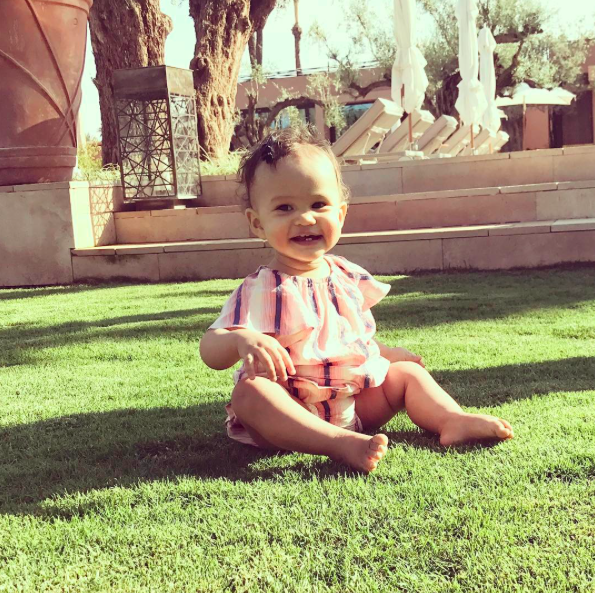 """<p>Luna is so happy to live in sunny California, when she's not jet-setting around the world with her parents — like she is here during her recent trip to Morocco. (Photo: <a rel=""""nofollow"""" href=""""https://www.instagram.com/p/BR8nPRMjT-9/"""">Instagram</a>) </p>"""