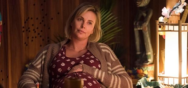 Charlize Theron in a scene from the movie Tully.