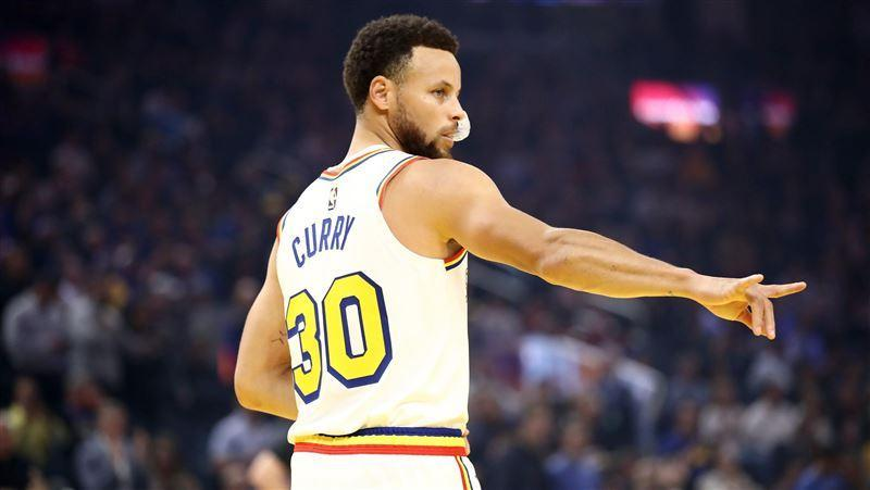 Stephen Curry。(圖/翻攝自NBA官方推特)
