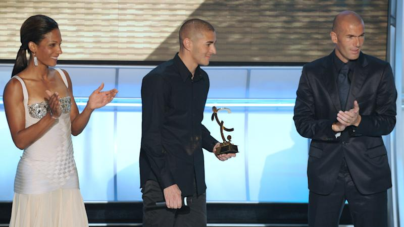 Karim Benzema Ligue 1 Player of the Year 11052008