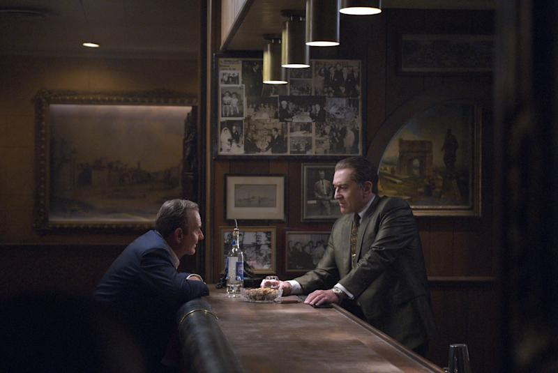 Joe Pesci and Robert De Niro in The Irishman. (Photo: Netflix)