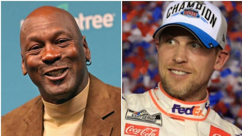 Michael Jordan excited for NASCAR future with Denny Hamlin