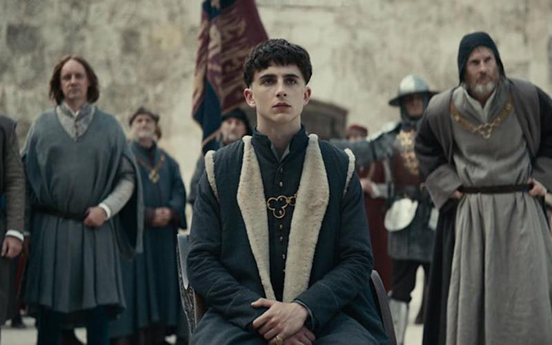 Timothée Chalamet in The King (Credit: Netflix)